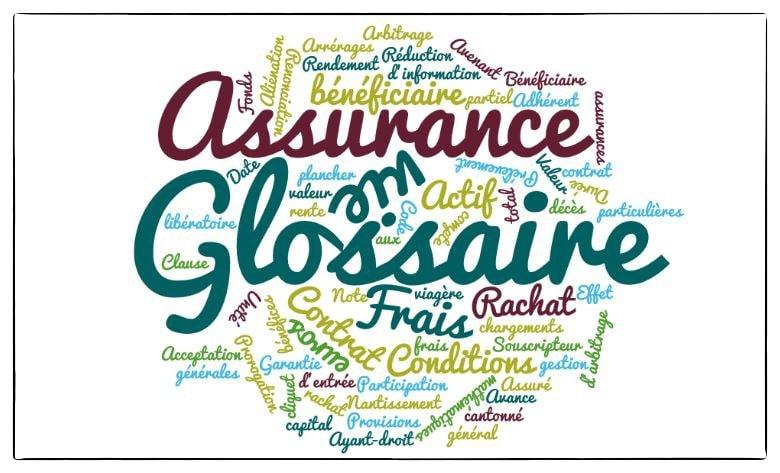 lexique assurance vie