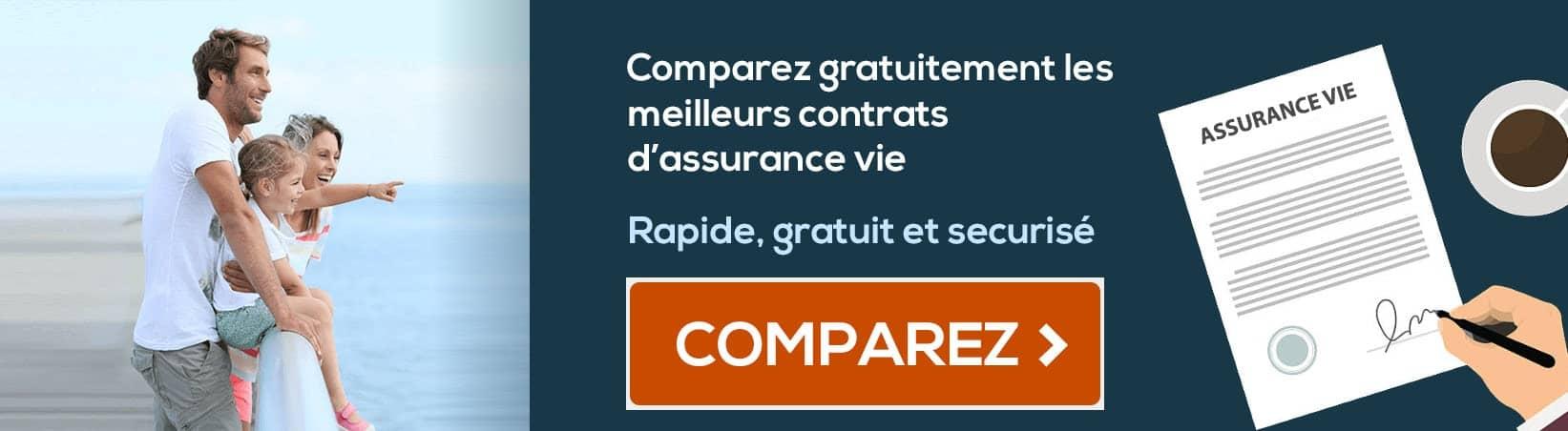 banniere comparatif assurance vie
