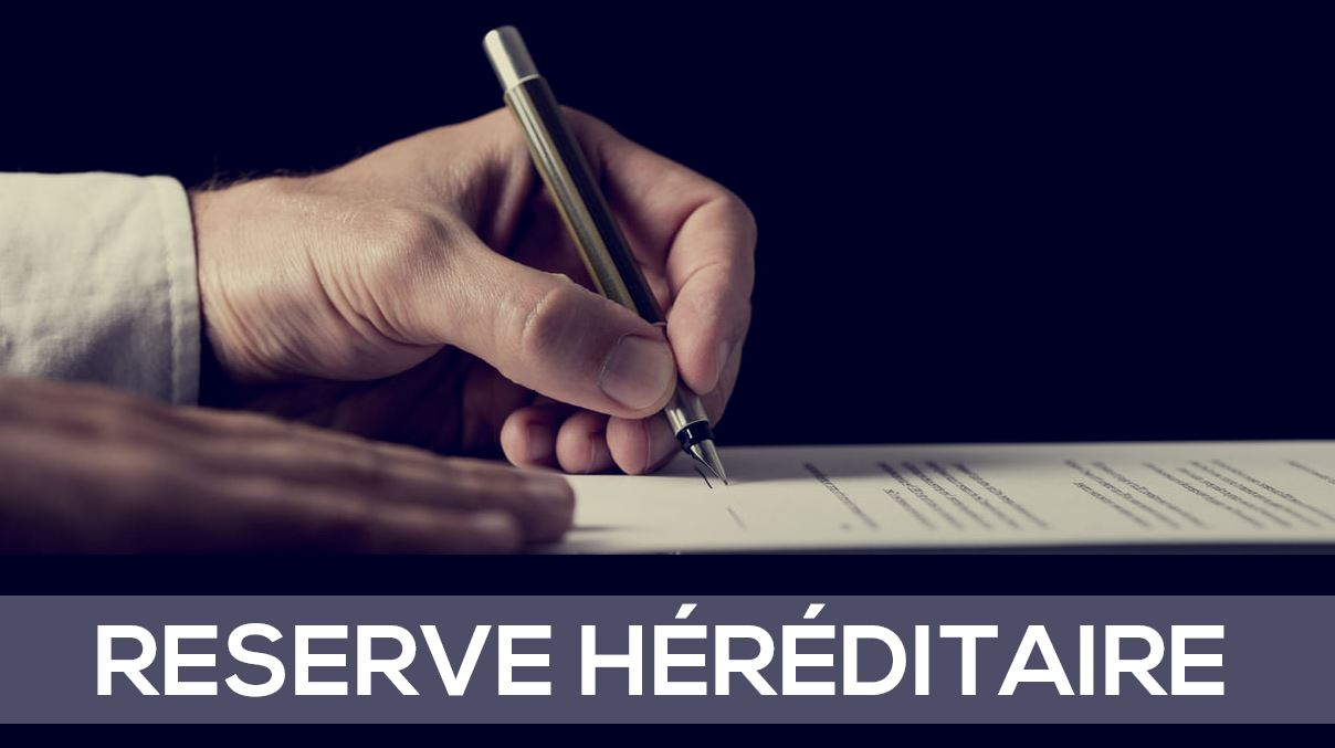 RESERVE HERIDITAIRE