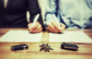 deux signataires divorcés