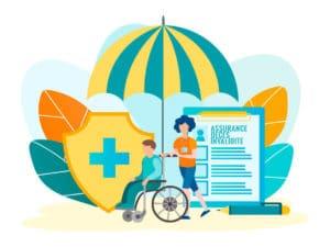 illustration assurance deces invalidité risques couverts