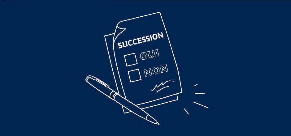 Illustration Renoncer Succession